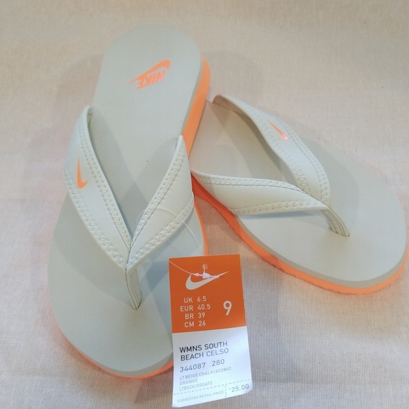 3aab74a42fa7 NWT Nike Womens South Beach Celso Sandal - Size 9